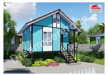 บ้านน็อคดาวน์,บ้านสำเร็จรูป, รับออกแบบบ้านน็อคดาวน์, รับสร้างบ้านน็อคดาวน์